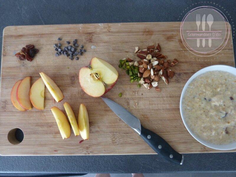 Porridge pomme et fruits secs (12)