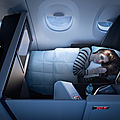 La nouvelle suite pour delta airlines pour la business class