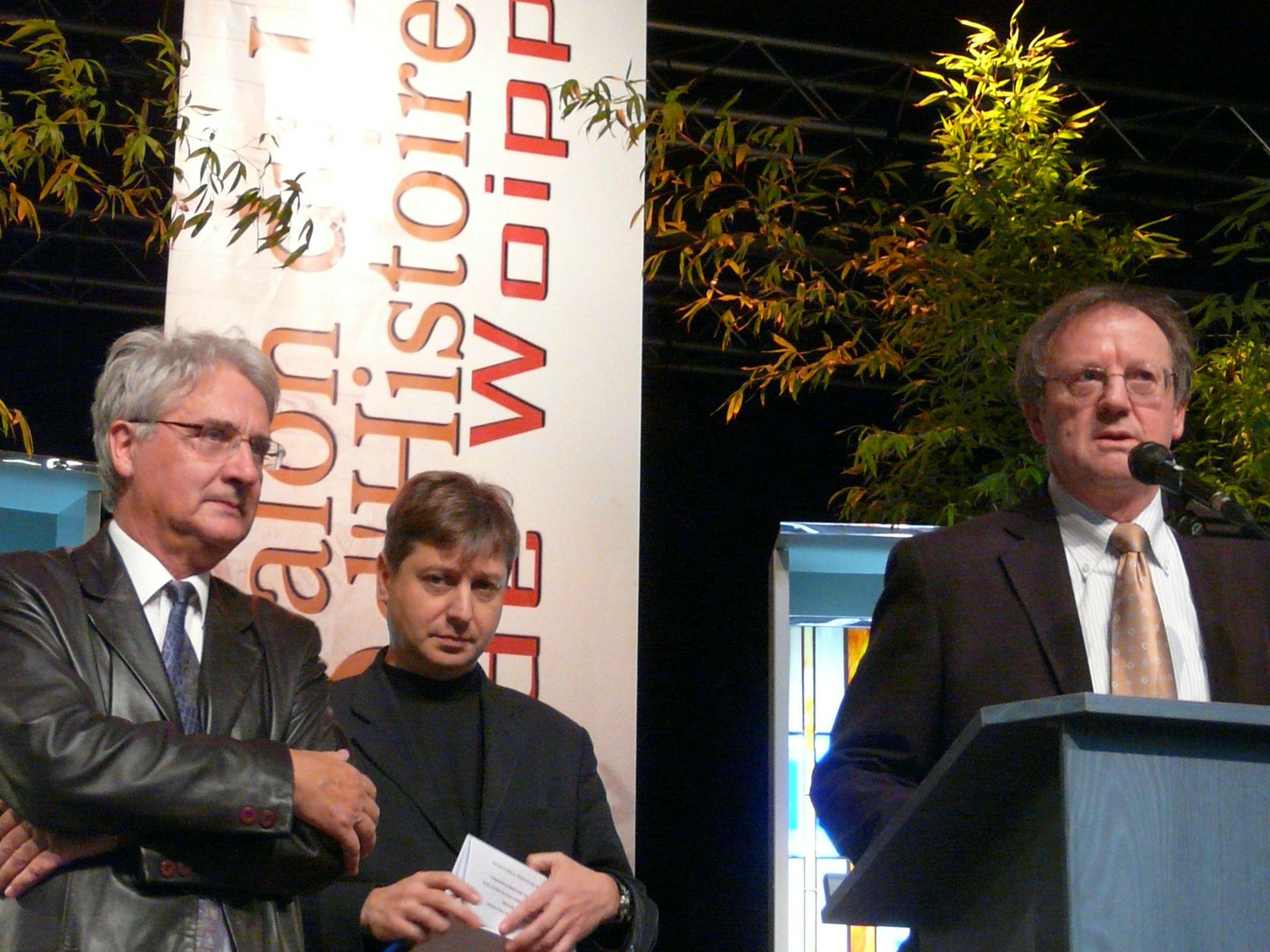 Pierre Briant, François Grosdidier et Pierre Brasme