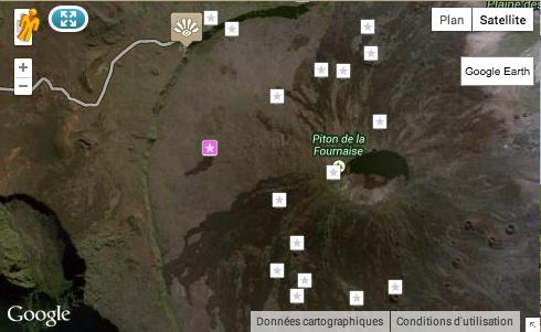 Localisation du Cratère Séry