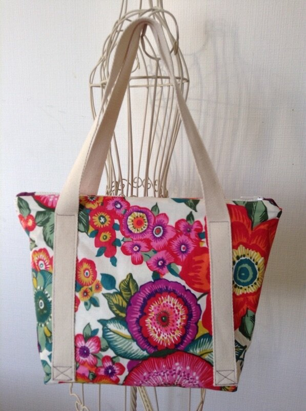 Lunch bag fleuri