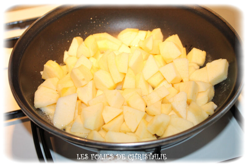 Crêpes pommes 1