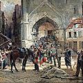 Beauquesne, Avant le combat (1896)