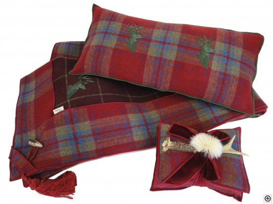 Plaid-Altalena-150x150-cm-Hampton-Wine-