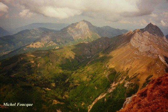 1560) Rando sur le Pécloz (Savoie)