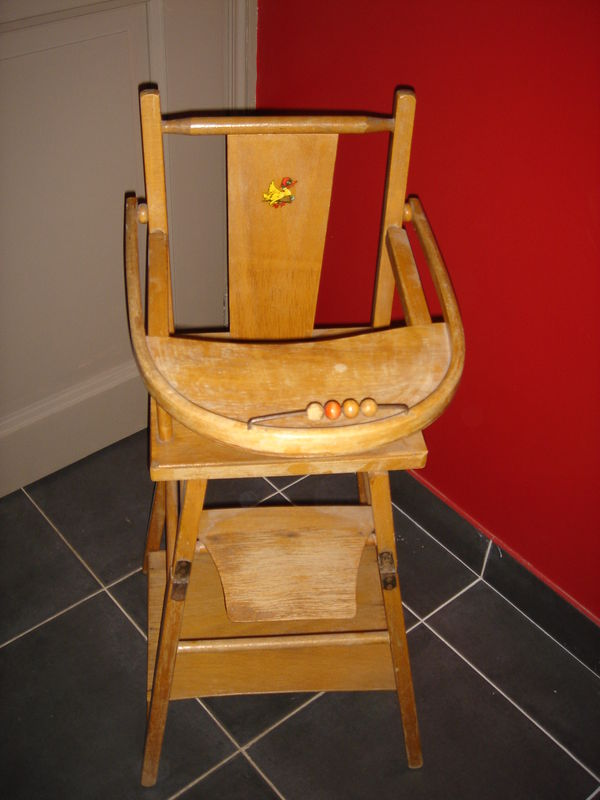 chaise haute de poupe annes 60 70 - Chaise Annee 70