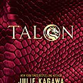 [cover reveal] talon de julie kagawa