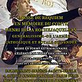 Messe de requiem en mémoire d'henri de la rochejaquelein