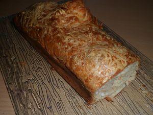 Cake salé crackers surimi