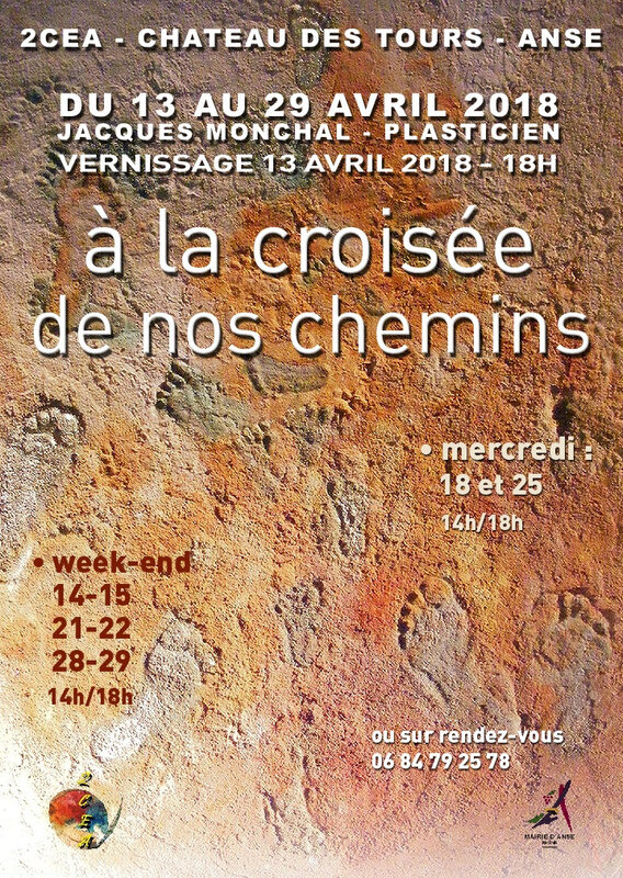 affiche_croisee_Expo Monchal 2018