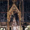 Hennebont, Basilique Notre Dame, statue de ND du Voeu