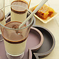 Panna cotta au miel et chocolat, une envie d'entremet