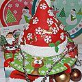 Noël 2012 - n°15 - bonnet du père noël (avec explications)