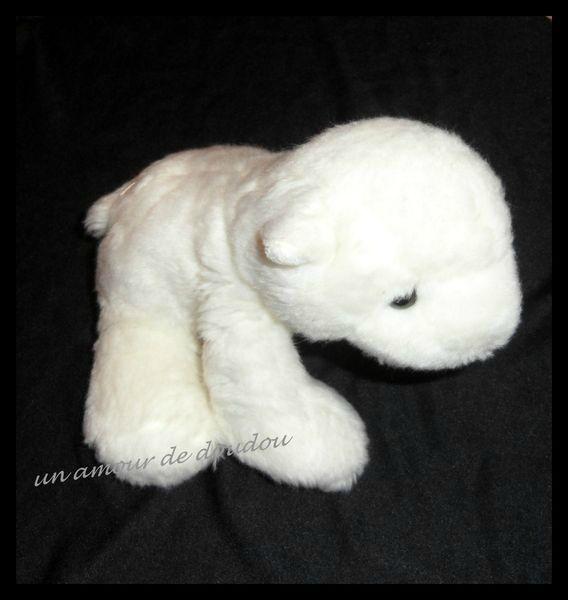 Peluche Doudou Agneau Blanc Peeko par Comi 23 cm