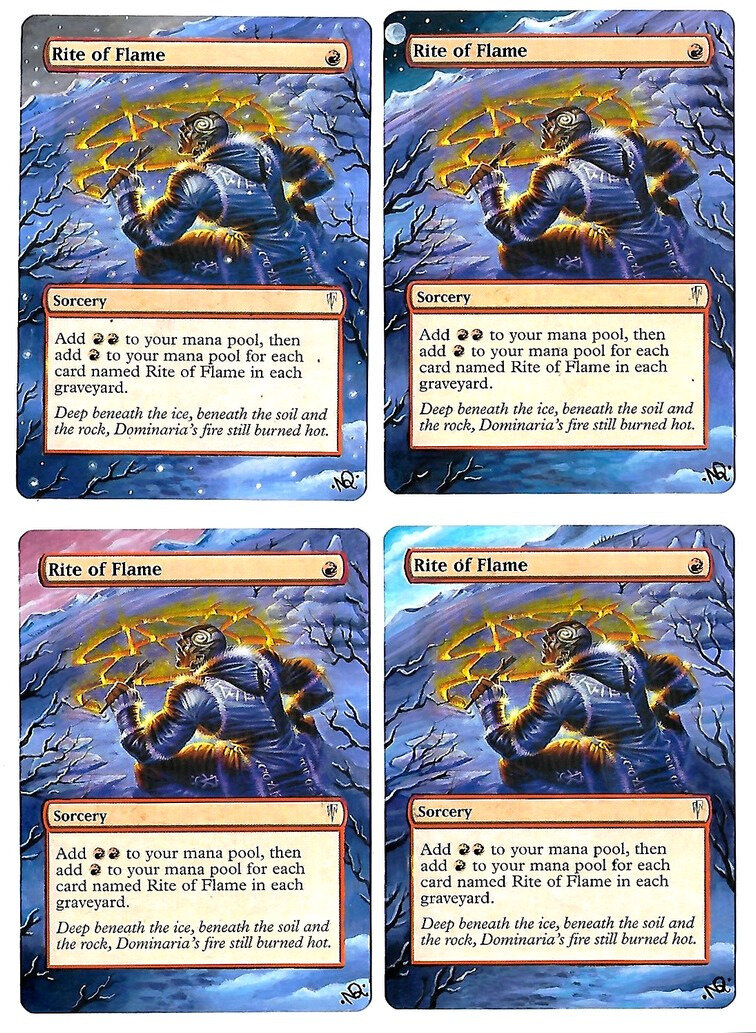 Rite of Flame Altered