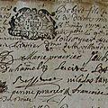 Robert Louis François_Acte Baptême 1717