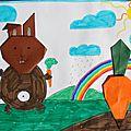 …et si on donnait une carotte au lapin?