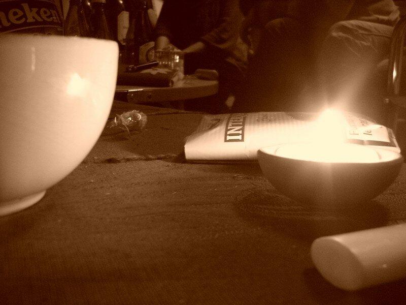 Lumière d'apéritif...