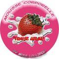 Mousse corporelle fraise melba