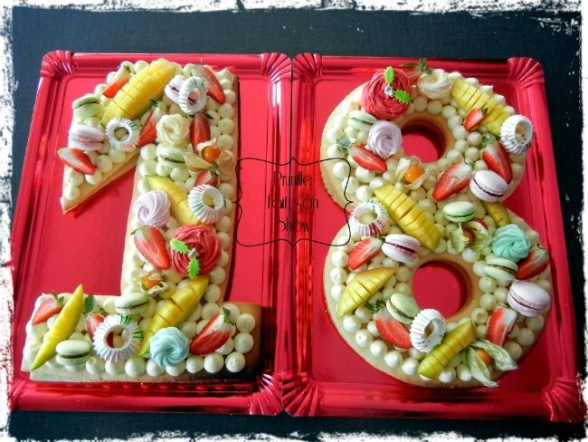 Number Cake 18