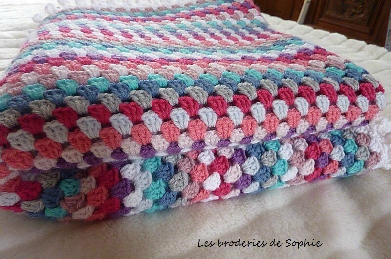 couverture crochet granny (7)