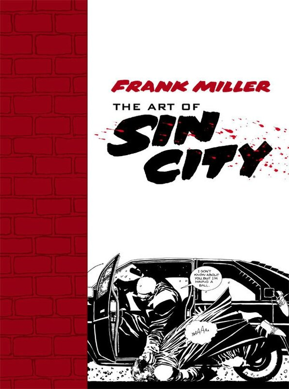 dark horse the art of sin city TP