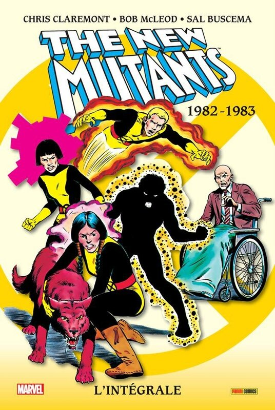 intégrale new mutants 1982-83