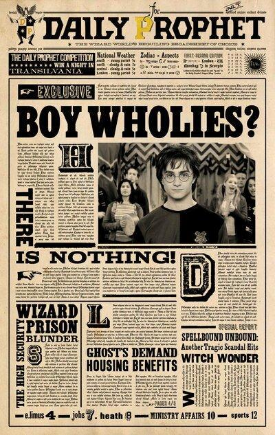 La Gazette du Sorcier - Créations dans le monde de George Weasley