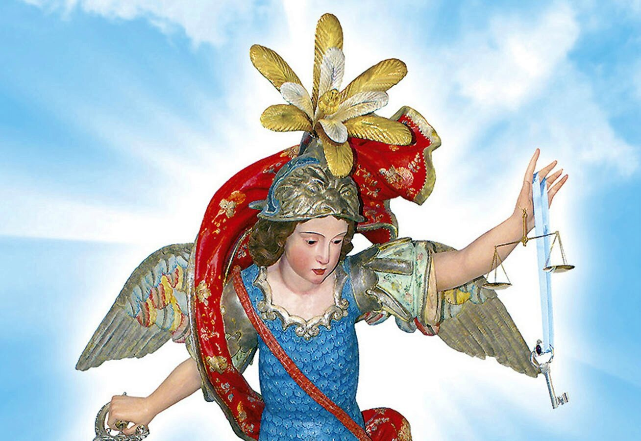 Mois De Saint Michel Archange Et Des Saints Anges Images Saintes
