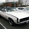 Chevrolet camaro ss 350 convertible-1969