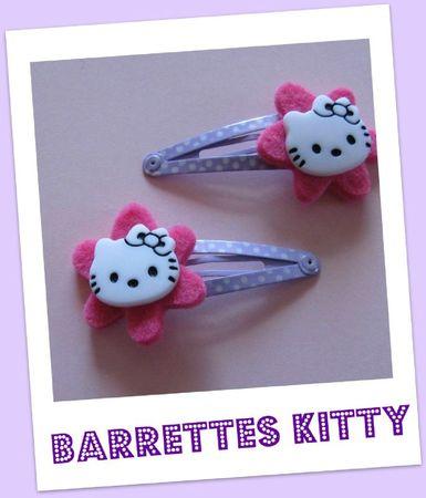 barrettes kitty