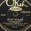 Elizabeth johnson - be my kid blues & sobbin' woman blues