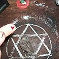 cercle de charme magique de prospérité du medium fiogbe