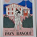 Pays basque réalisée par Raymond Peynet en 1960