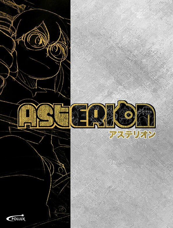 couverture art book asterion