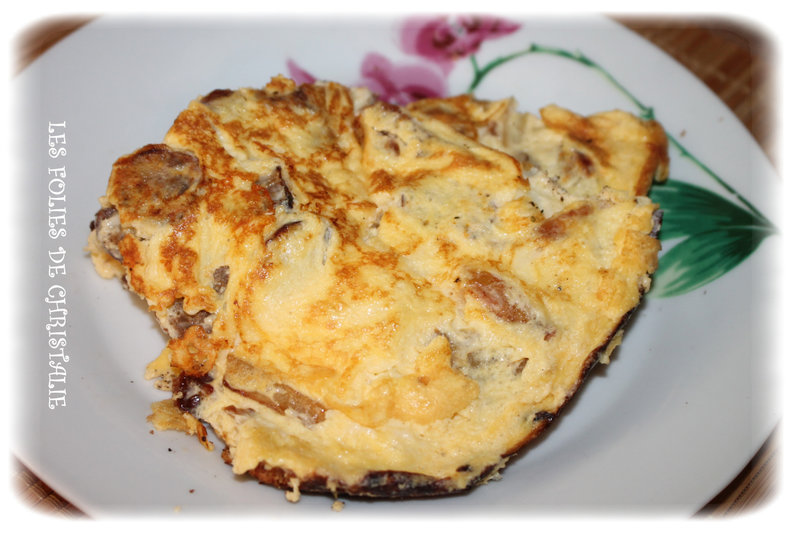 Omelette merguez 6