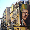 Art de rue de naples