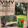 Vimy, les tranchées