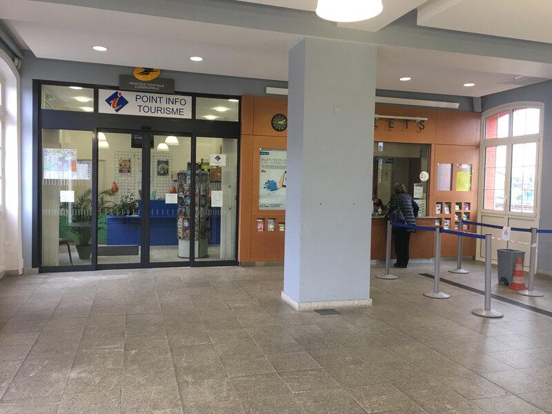 gare SNCF Avranches guichet