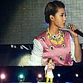 Jolin at stars concert in yancheng