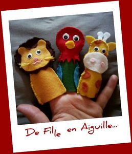 Finger Puppets Animaux 3
