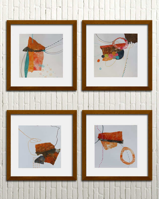 orange-1-2-3-4_square-frames
