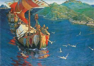 Viking_Var_gue_Nicholas_Roerich__Guests_from_Overseas