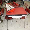 Table Formica Rouge 2