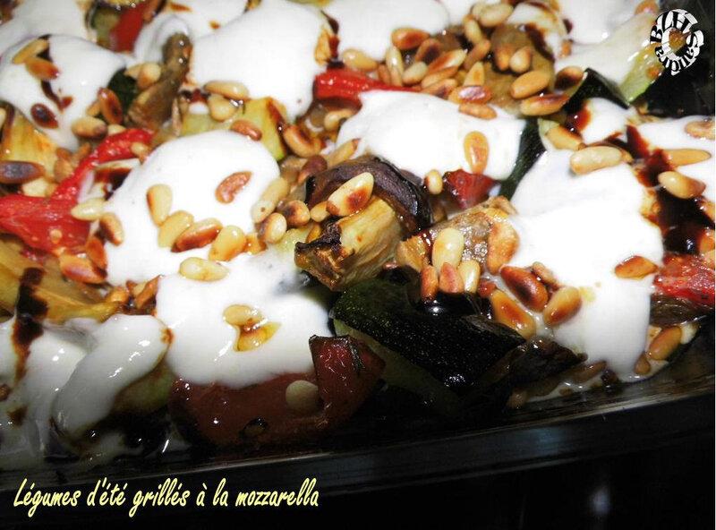 0924 Légumes d'été grillés à la mozzarella COUV