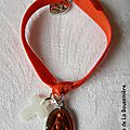 Bracelet miraculeux (orange)