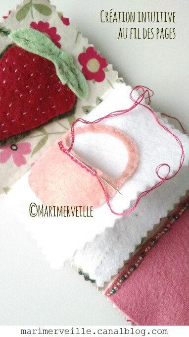 Petit panier carnet fruits rouges marimerveille
