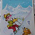 Sports d'hiver - Humo skieurs Maurice Chevalier datée 1994