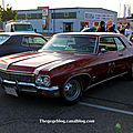 Chevrolet impala 2door hardtop coupé de 1970 (Rencard Burger King mai 2011) 01