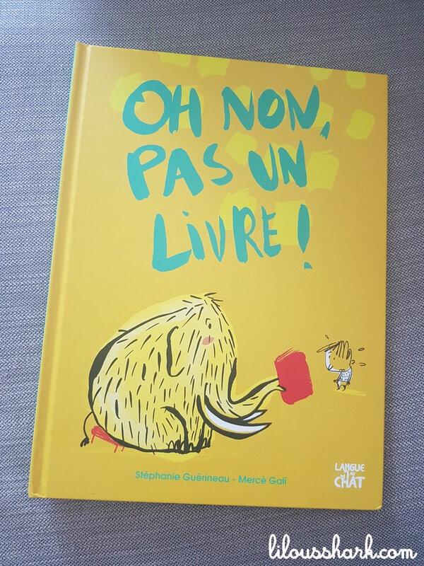 oh non pas un livre langue au chat